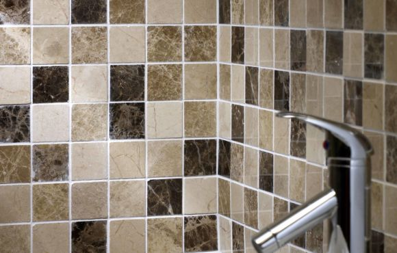 Emperor Mix Polished marble mosaic