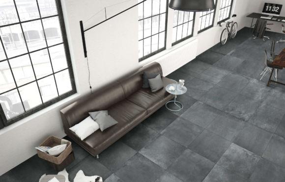 Concrete Effect Rectified Mosaic