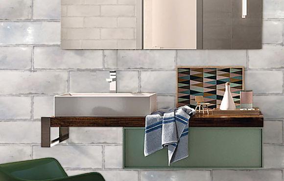 Itallic 130x390mm ceramic wall tile