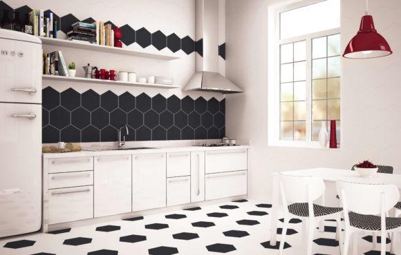 Lapo Hexagon tiles 333x285x9mm