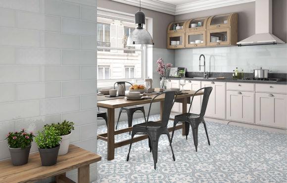 Pattern B classic floor tile design 450x450x10mm