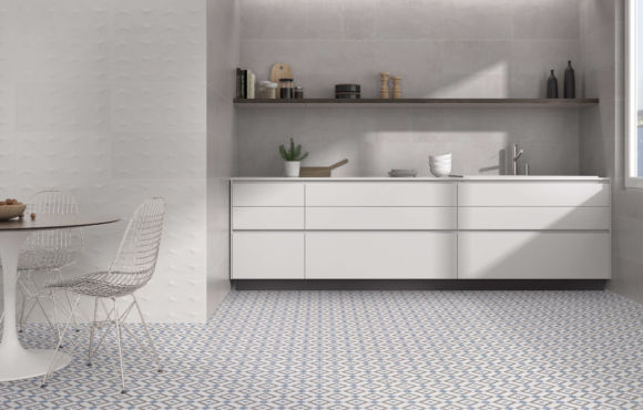 Pattern S ceramic Floor tiles 450x450x10mm