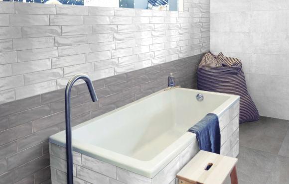 Range Ceramic wall tile 75x300mm
