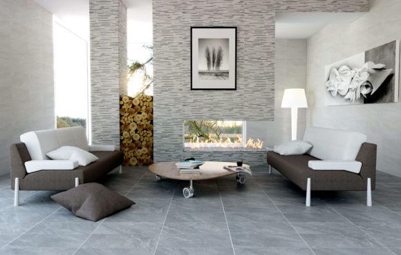 Selvaggio slate effect porcelain tile