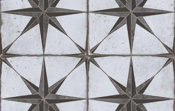 Vintage GS star design 450x450x8.5mm