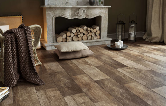 Woodland T Wood effect 215x985mm